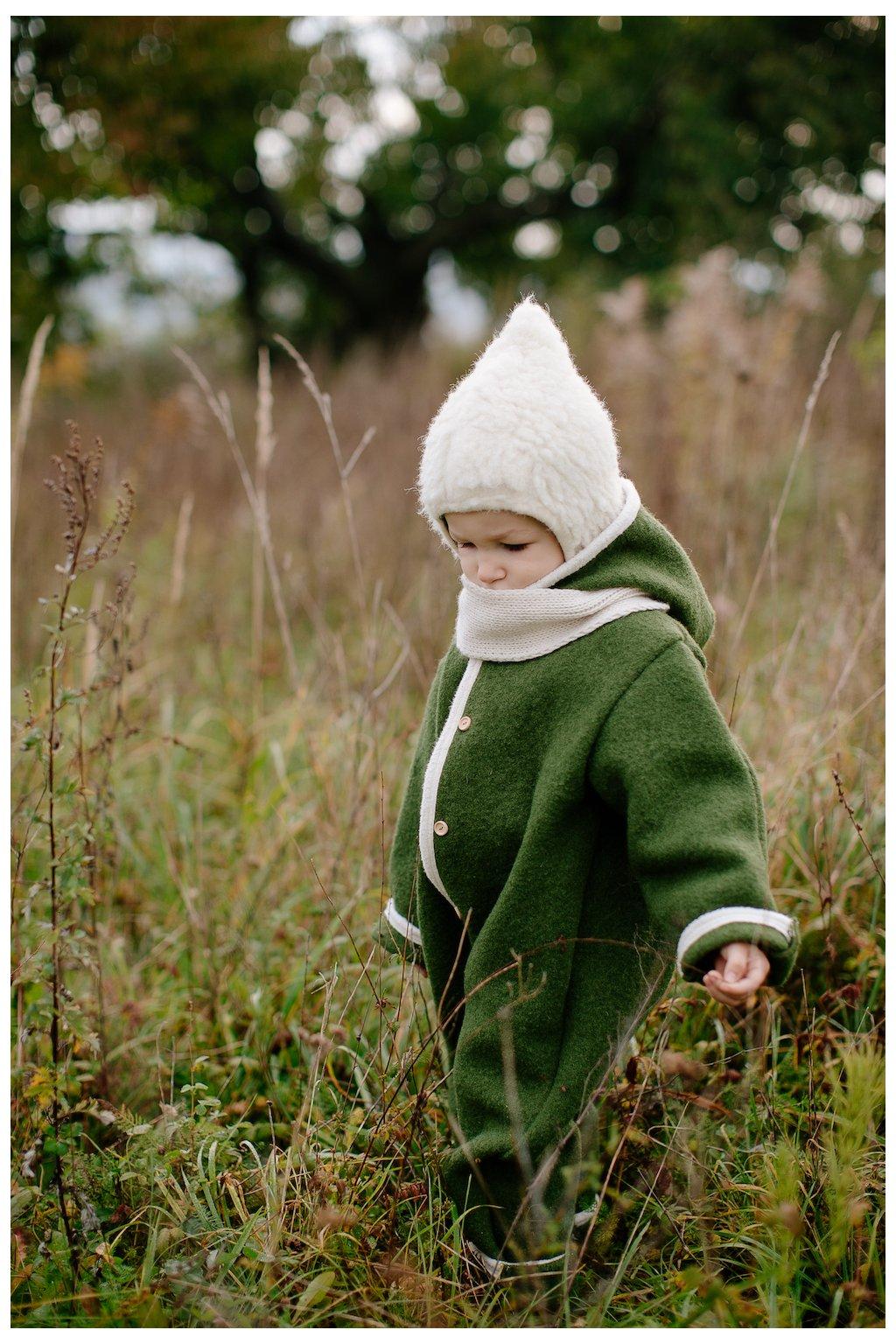 Detský vlnený overal (VIAC FARIEB)
