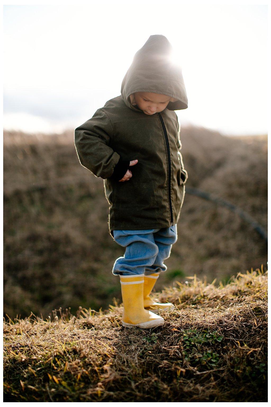 Detská outdoorová bundička (VIAC FARIEB)