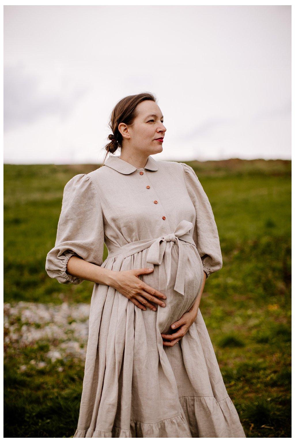 Romantické (nielen) tehotenské šaty (VIAC FARIEB)