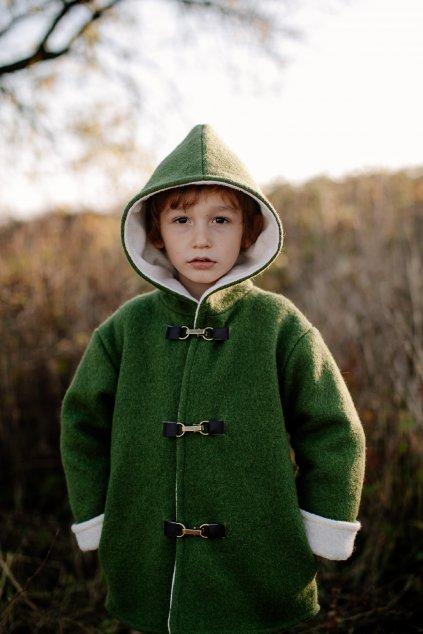 Detský vlnený kabátik (VIAC FARIEB)