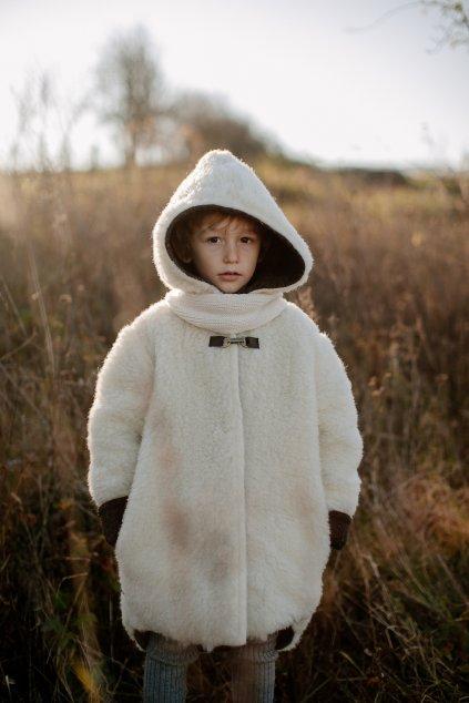 Detský merino kožúštek Sheepy Coat (VIAC FARIEB)