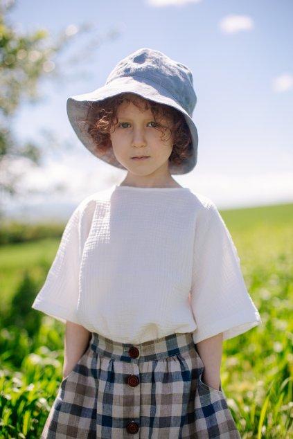 Ľanový klobúčik (VIAC FARIEB)