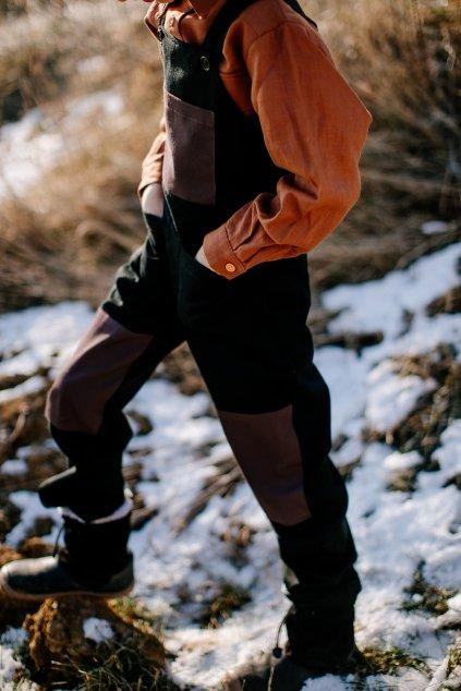 Detské pracovné nohavice (VIAC FARIEB)