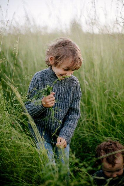 Detský vlnený sveter