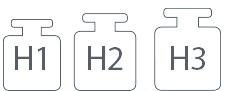 H1 H2 H3