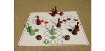 Člověče nezlob se velké zahradní - komplet pro hru - 9 figurek