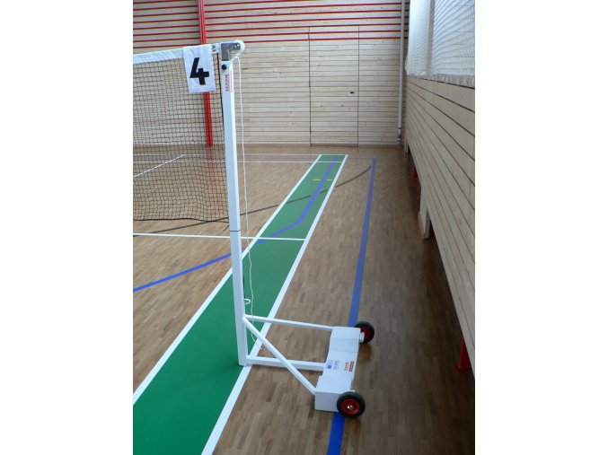 Mobilní badmintonové sloupky DOR-SPORT - souprava