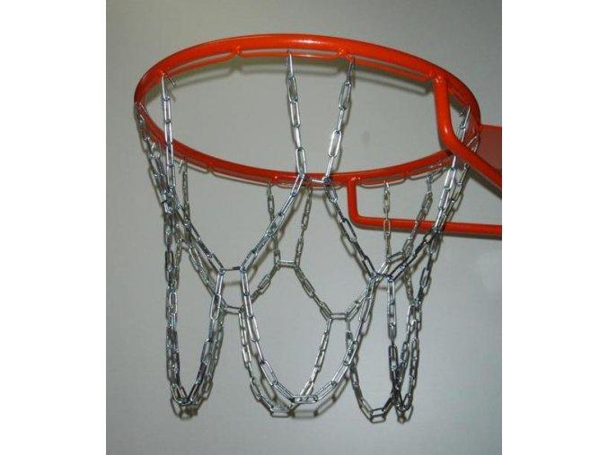 Síť košíková, basketbal, pozink