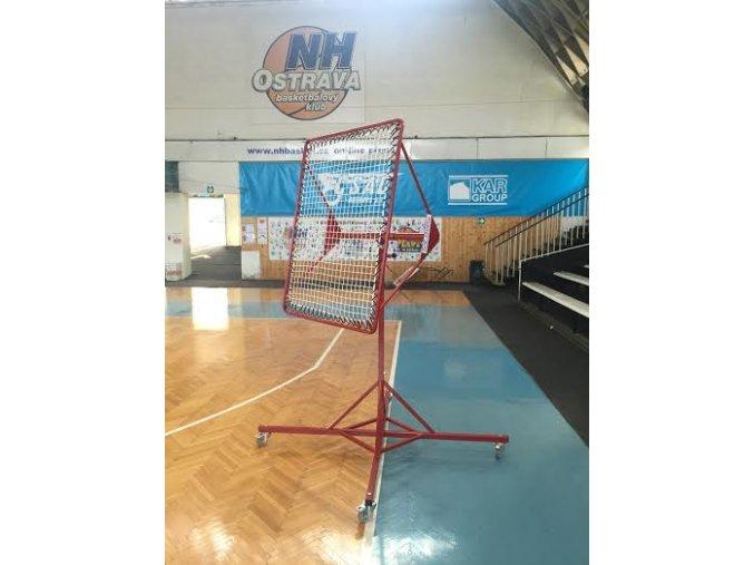 Polohovací odrazová plocha DOR-SPORT pro míčové sporty