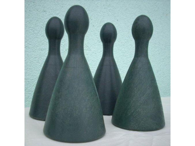 Figurky pro člověče nezlob se zahradní - 4 ks