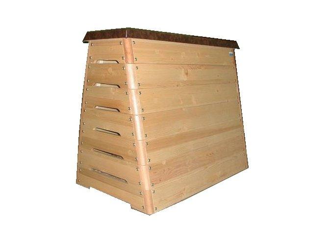Švédská bedna DOR-SPORT STANDARD, kónická, 7-dílů, překližka, hrany z tvrdého dřeva