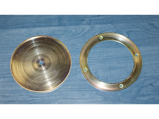 Krycí víčko DOR-SPORT - příruba ocelová pro umělý povrch