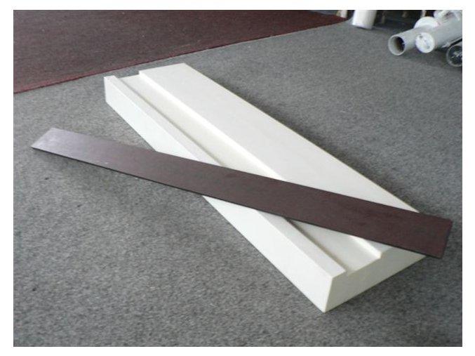Odrazové břevno skok daleký, dřevěné, dle IAAF (bez ocelového rámu)