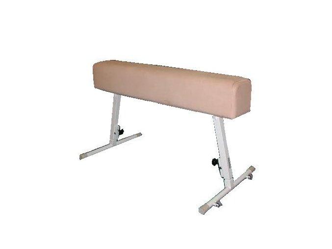 Gymnastický kůň DOR-SPORT bez madel, koženka, ocelová stavitelná konstrukce