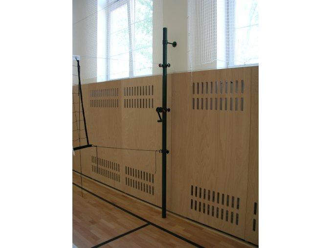 Volejbalové sloupky DOR-SPORT do zdi - vnitřní, pr. 60 mm