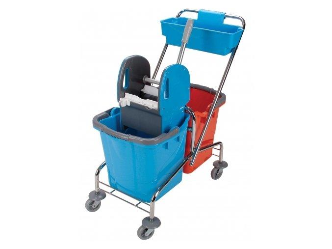 Úklidový vozík DOUBLE 2x25 l