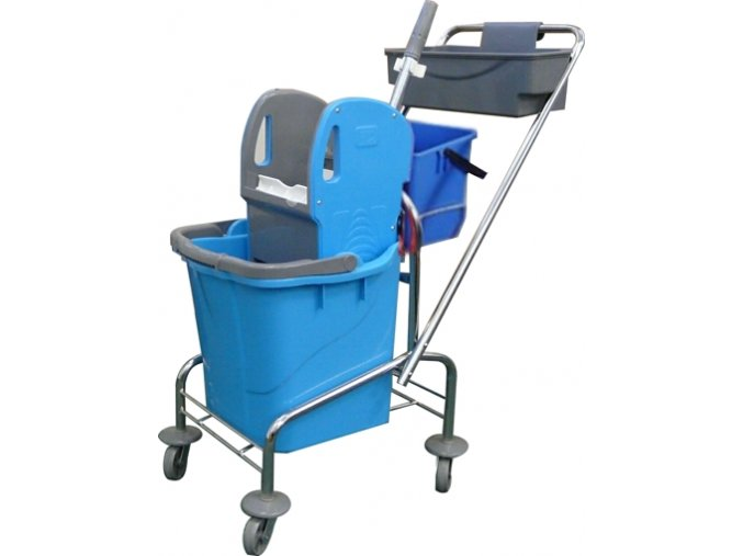 Úklidový vozík SINGLE KOMPLET 1 x 25 l