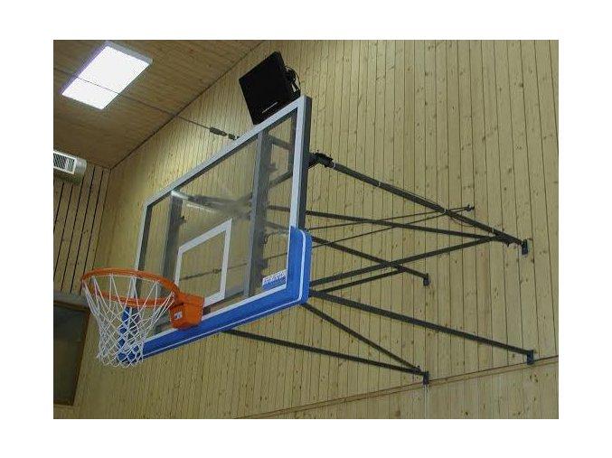 Konstrukce pro basketbal DOR-SPORT, pevná, vysazení 1650-3500 mm