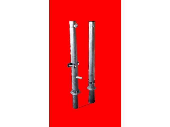 Nohejbalové sloupky DOR-SPORT do pouzder - venkovní, 102 mm