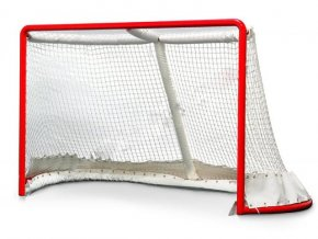 Chránič horního zadního oblouku pro hokejovou branku