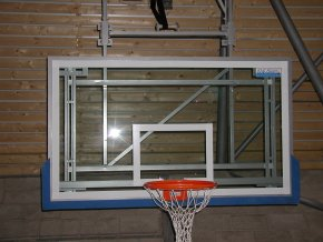 Basketbalová deska DOR-SPORT 1800x1050 mm, vnitřní, akrylát