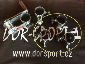 Objímka na volejbal DOR-SPORT s háčkem - venkovní, 63 mm