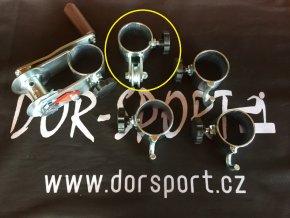 Objímka na volejbal DOR-SPORT s kolečkem  - venkovní, 63 mm