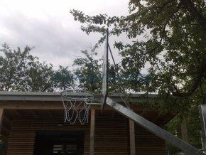 Streetball konstrukce DOR-SPORT, výškově stavitelný, do betonového základu, vys. 1450 mm