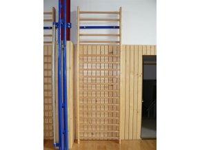 Žebřiny do tělocvičny DOR-SPORT 300x95 cm, 17 příček, multiplex