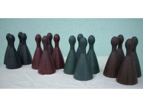 Figurky pro člověče nezlob se zahradní - 16 ks