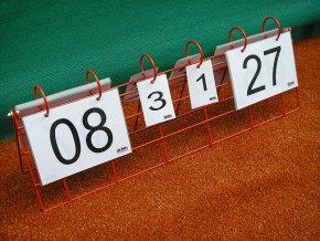 Volejbalové počítadlo DOR-SPORT - ukazatel stavu skóre