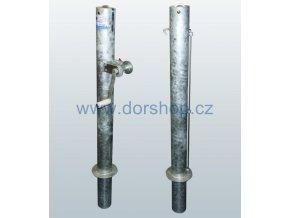 Tenisové sloupky DOR-SPORT - venkovní, 102 mm