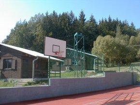 Basketbalová konstrukce DOR-SPORT, příhradová, otočná, vys. 4500 mm