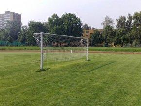 Fotbalová branka DOR-SPORT 3-dílný rám 7,32 x 2,44 m
