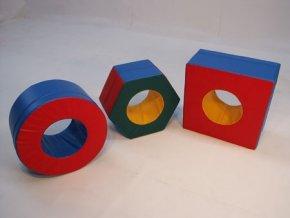 Kolo, Čtyřúhelník, Šestiúhelník