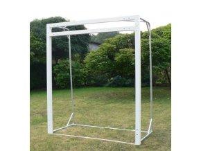 Branka na českou házenou DOR-SPORT kovová 2x2,4 m, stavitelné břevno + kotvení, vnitřní