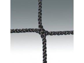 Florbalová síť 160x115, černá, 2 mm, PP