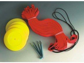 Lajny na beachvolejbal EKONOM s kotvením, 5 cm