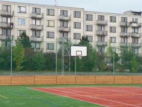 Basketbalová konstrukce DOR-SPORT, příhradová, pevná, vys. 4500 mm
