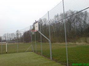Streetball konstrukce DOR-SPORT, do betonového základu, vys. 1200 mm