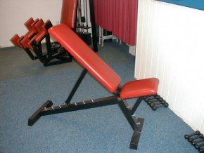 Posilovací lavice - lavice seřizovací-polohovací