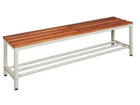 Šatní lavice délka 150 cm s roštem