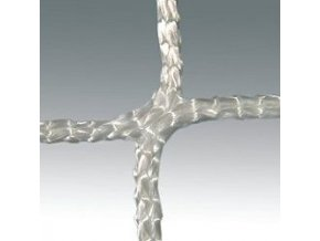 Záclonka házená LIGA, 4 mm, bílá, PP