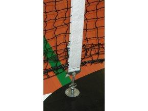 Středová páska s přezkou na tenisovou síť - PŘESNÁ- exakta - wimbledon