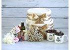 Svatební dorty z ručníků