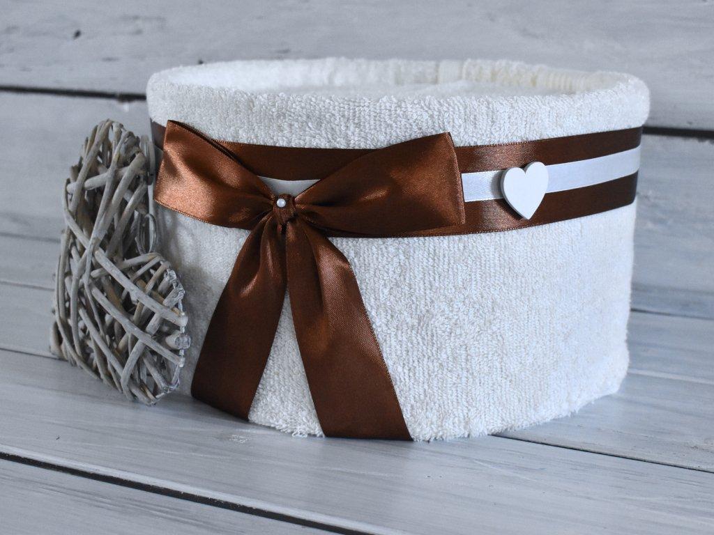 Jednopatrový ručníkový dort pro dámy II.