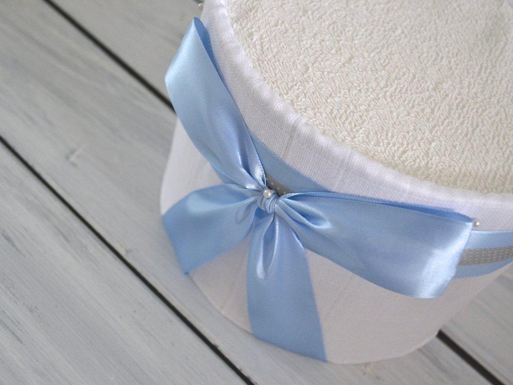 Mini plenkový dort modrý, pro chlapečka