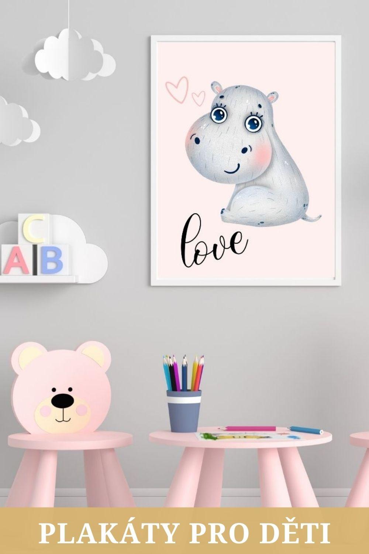 Plakáty pro děti do dětského pokoje
