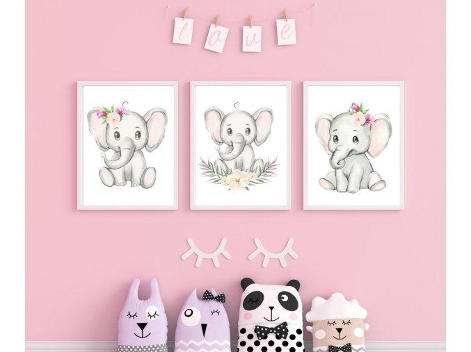 SADA  - sloník pink