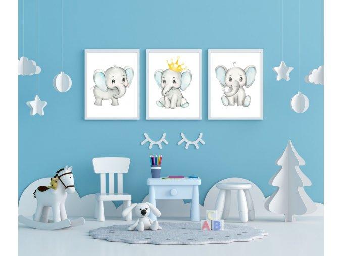 SADA - sloník blue